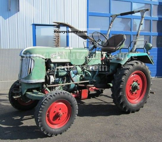 1954 Guldner  Güldner ADA 9 hydraulic / cutting bar / fast running Agricultural vehicle Tractor photo
