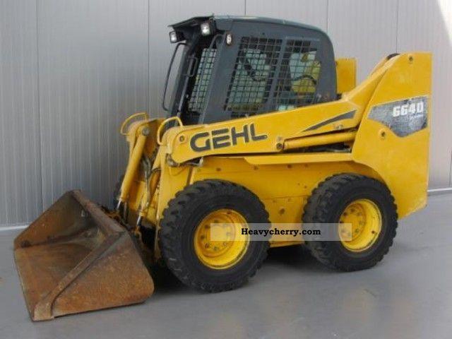 2007 Gehl  6640 Turbo Construction machine Wheeled loader photo