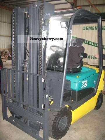 2011 Komatsu  FB25H Forklift truck Front-mounted forklift truck photo