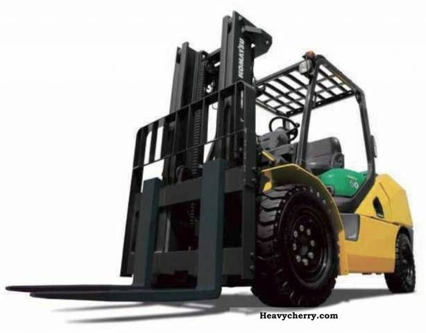 2011 Komatsu  CX-FG50AT-10 Forklift truck Front-mounted forklift truck photo
