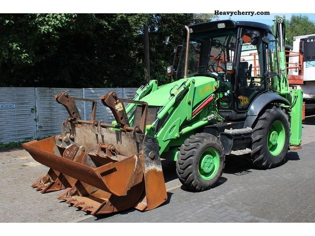 2007 JCB  3 CX 4x4 Construction machine Combined Dredger Loader photo