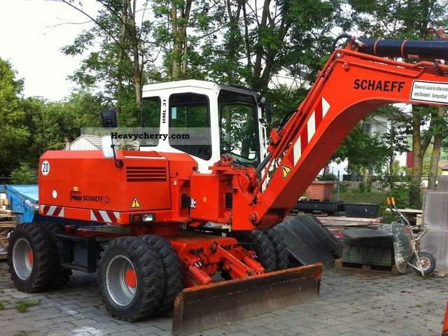 Schaeff Hml 31 2002 Mobile Digger Construction Equipment Photo And Specs