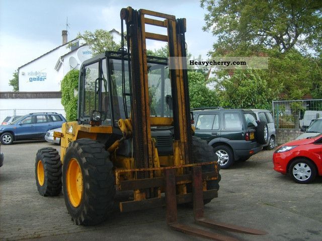 1991 JCB  940 Forklift truck Front-mounted forklift truck photo