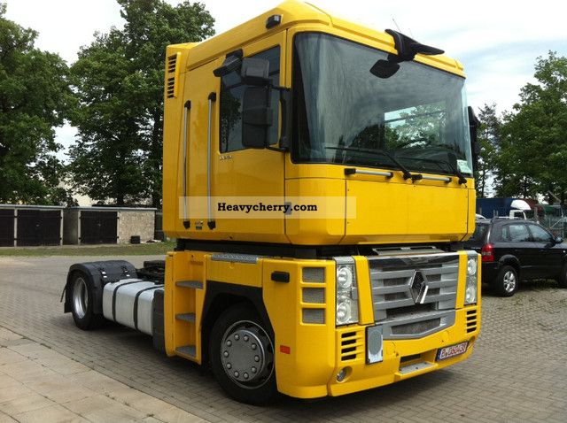 2008 Renault  Magnum 500 DXI Euro 5 Low Deck Manual Semi-trailer truck Volume trailer photo