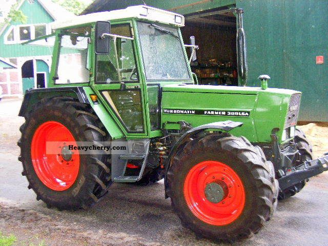 1987 Fendt  309 LSA + PTO Agricultural vehicle Tractor photo