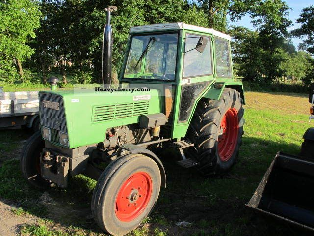 1978 Fendt  105 ls Agricultural vehicle Plough photo