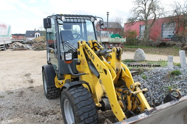 2008 Wacker  WL 36 Construction machine Wheeled loader photo