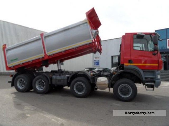 Tatra Phoenix 8 X 8 2012 Tipper Truck Photo And Specs