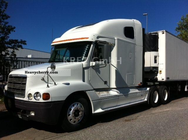 2002 freightliner century xl 6x4 semi trailer truck standard tractor