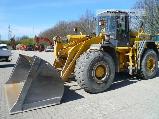 2001 Furukawa  345 Series II 2265 lit. Ausweissbar 1er hand Construction machine Wheeled loader photo