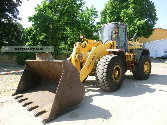 1998 Furukawa  355-2 Construction machine Wheeled loader photo