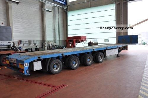 2001 ES-GE  SANH platform Semi-trailer Platform photo