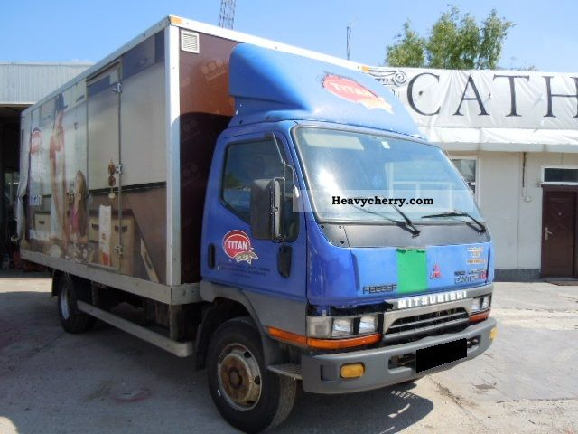 2002 Mitsubishi  Canter FE659 2002 MODEL 130 208 KM ORIGINAL Van or truck up to 7.5t Box photo