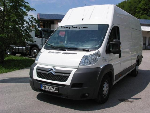 2010 Citroen  Citroën Jumper 35 L4H3 Heavy HERE IN RENT TO BUY O. SCHUFA Van or truck up to 7.5t Box-type delivery van - high and long photo