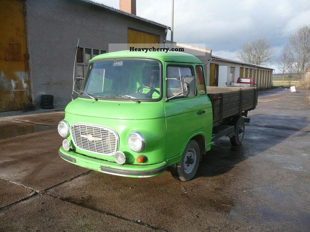 1990 Barkas  Platform 4 stroke engine VW Van or truck up to 7.5t Stake body photo