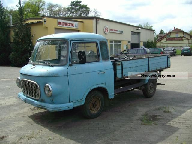 1975 Barkas  B 1000 HP Van or truck up to 7.5t Stake body photo