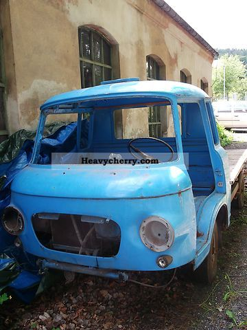 1970 Barkas  B 1000 Van or truck up to 7.5t Stake body photo