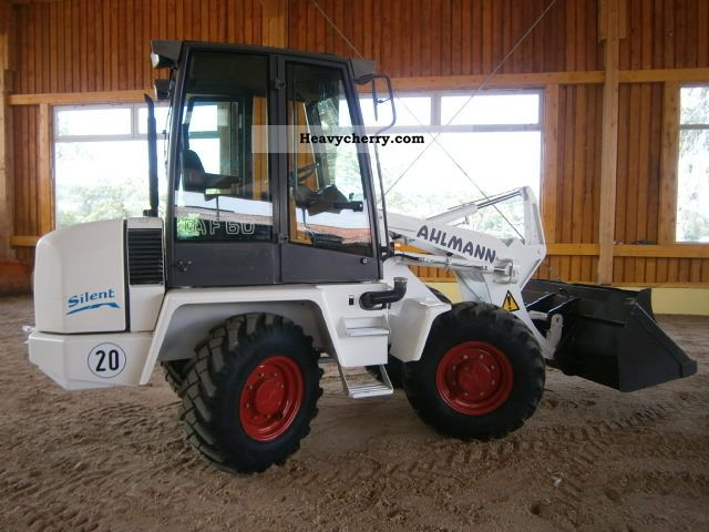 2000 Ahlmann  Silent AF60 Construction machine Wheeled loader photo