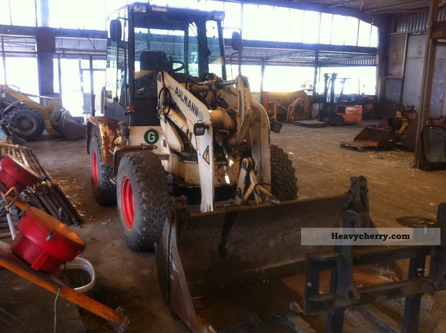 1999 Ahlmann  AS85 built 1999/7 tons / 2800h! / TOP! Construction machine Wheeled loader photo