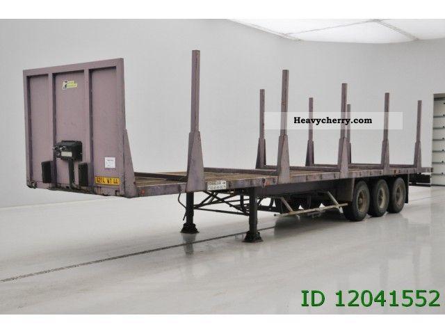 1990 Trailor  Airride Semi-trailer Platform photo