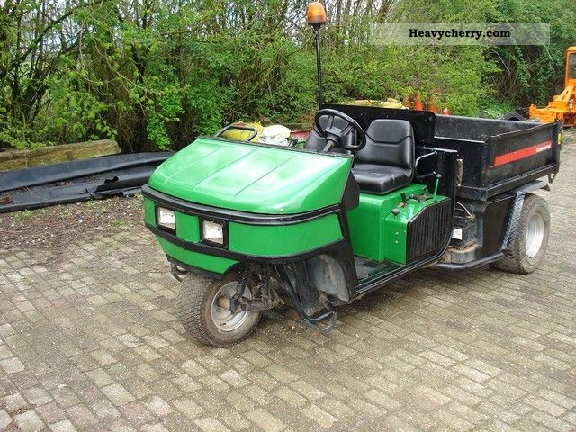 2002 Jacobsen  cushman turf truckster-tipper and wasserfas Agricultural vehicle Loader wagon photo