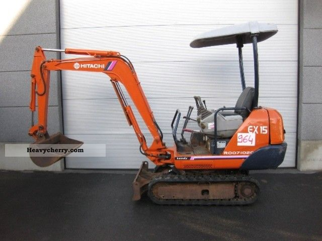 2012 Hitachi  EX15-1 (964) Construction machine Mini/Kompact-digger photo