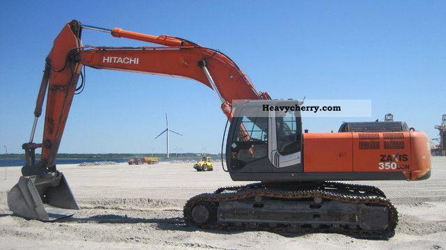 2007 Hitachi  ZX 350 LCN-3 Construction machine Caterpillar digger photo