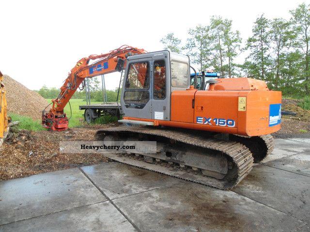 1997 Hitachi  FH 150-3 Construction machine Caterpillar digger photo