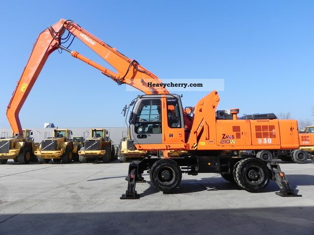 2005 Hitachi  ZX 210 MH Construction machine Mobile digger photo