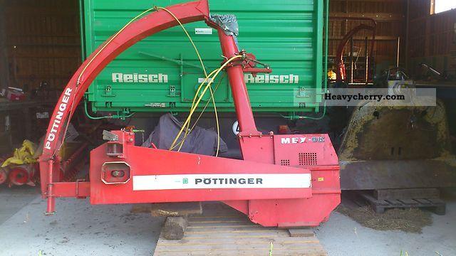 2012 Pottinger  Pöttinger MEX OK Agricultural vehicle Harvesting machine photo