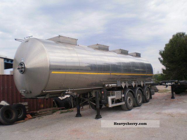 2006 Magyar  S34ESD Semi-trailer Tank body photo