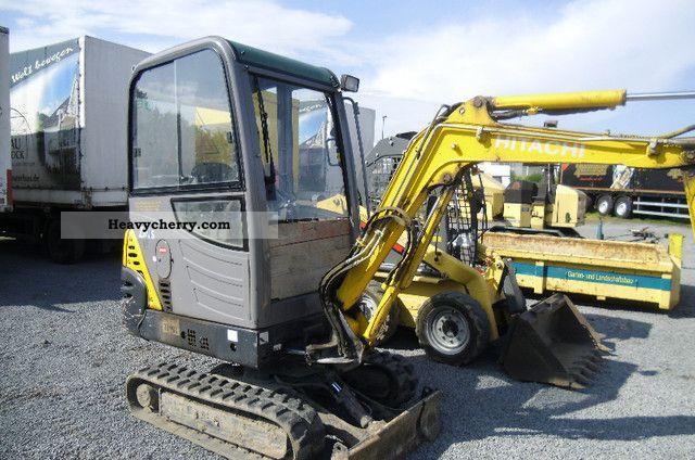 2007 Hitachi  ZAXIS ZX18 with cabin, quick hitch Construction machine Mini/Kompact-digger photo