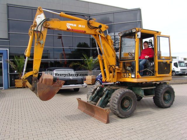 Zeppelin Zm 6 B   2 Spoons 1996 Mobile Digger Construction Equipment Photo And Specs