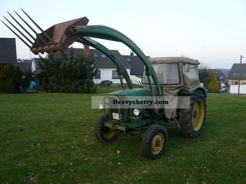 1964 John Deere  Lance 500 Agricultural vehicle Tractor photo