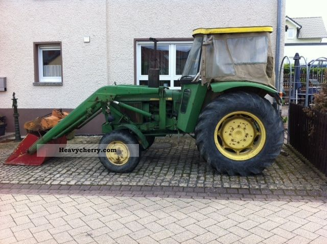 1974 John Deere  1630 S Agricultural vehicle Front-end loader photo