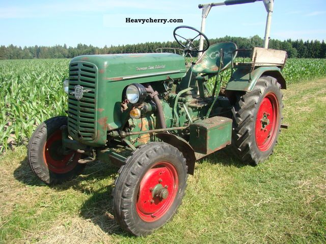 1959 Lanz  D117 Water Cooled original Tüv New Agricultural vehicle Tractor photo