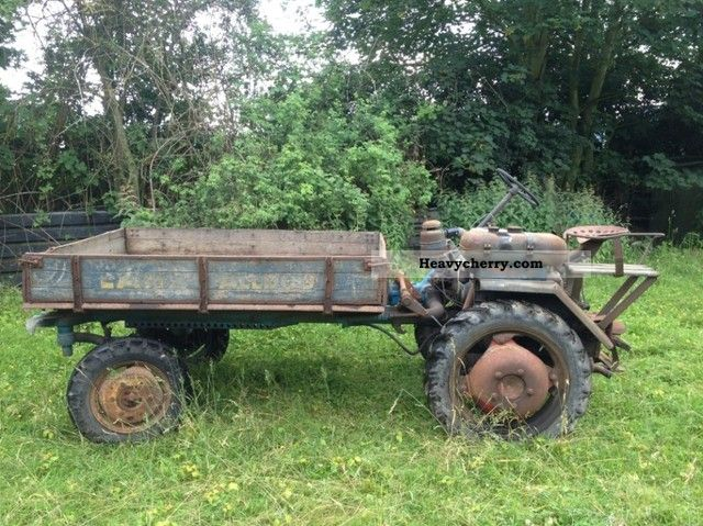 1955 Lanz  Alldog 1305 1315 flatbed carrier equipment Agricultural vehicle Tractor photo