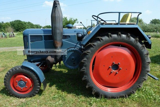 1958 Lanz  2816 Agricultural vehicle Tractor photo