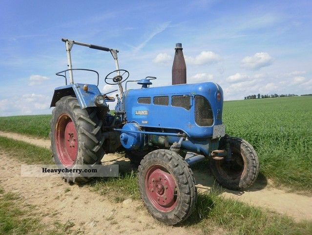 1960 Lanz  D2816 Agricultural vehicle Tractor photo