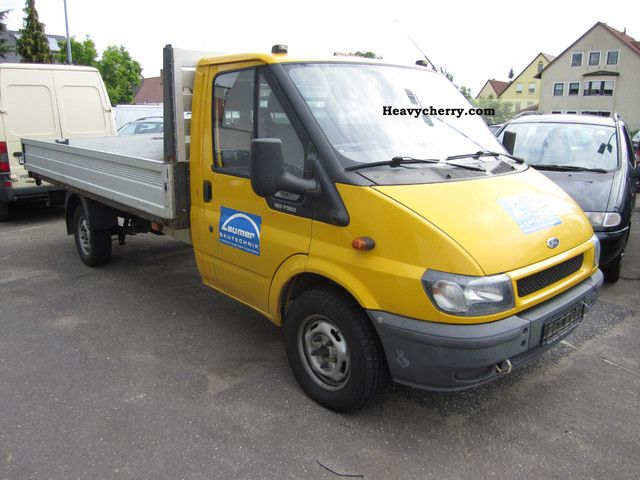 2002 Ford  Transit / 2.4TD/4.2m Maxi Pritsche/1.Hand! Van or truck up to 7.5t Stake body photo