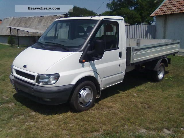 2006 Ford  transit Van or truck up to 7.5t Stake body photo