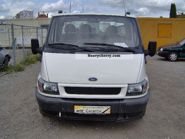2002 Ford  TRANSIT * 85000km * T300 * 3 * EURO Van or truck up to 7.5t Stake body photo