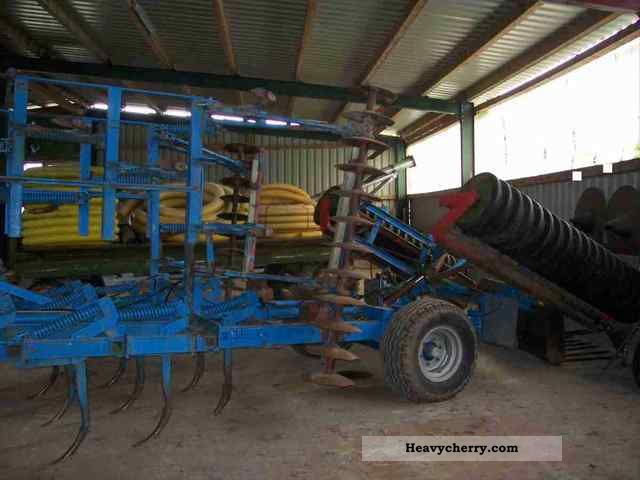 2012 Amazone  Cultivator tines 4.80m Arbietsbreite Agricultural vehicle Harrowing equipment photo