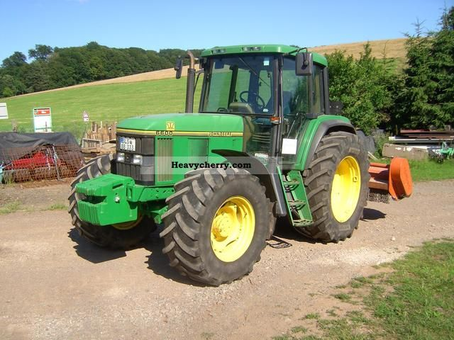 John Deere 6600 1994 Agricultural Tractor Photo And Specs