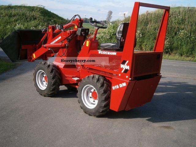 2012 Weidemann  916 D / M Agricultural vehicle Farmyard tractor photo