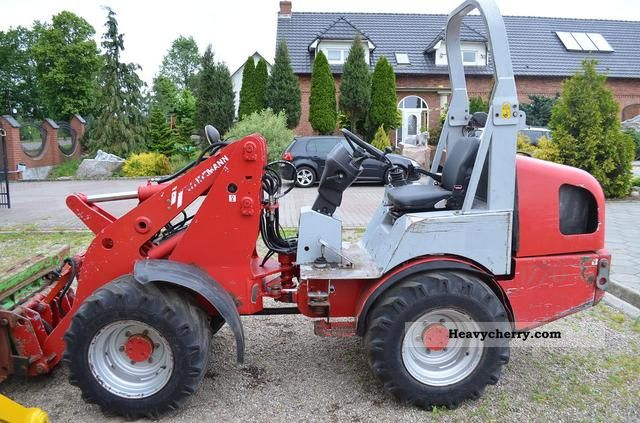 2005 Weidemann  Ładowarka Weidemann 1770, never JCB, Manitou Agricultural vehicle Front-end loader photo