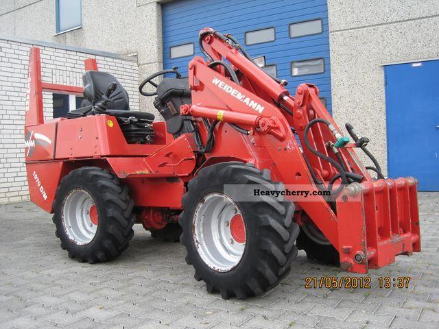 1998 Weidemann  1070 D / M Agricultural vehicle Farmyard tractor photo