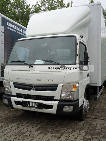 2012 Mitsubishi  FUSO CANTER 7C15 case with LBW / Air \u0026 airbag \\ Van or truck up to 7.5t Box photo