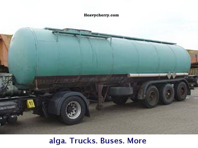 1974 Hendricks  28 m³ bitumen semitrailers Semi-trailer Silo photo