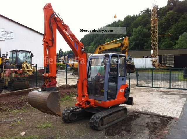 2000 Hitachi  EX 35 - 2 * good condition * MS03 * Construction machine Mini/Kompact-digger photo